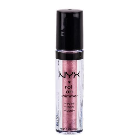 Nyx Shimmer nyx roll on eye shimmer mauve pink res05 nyx roll on