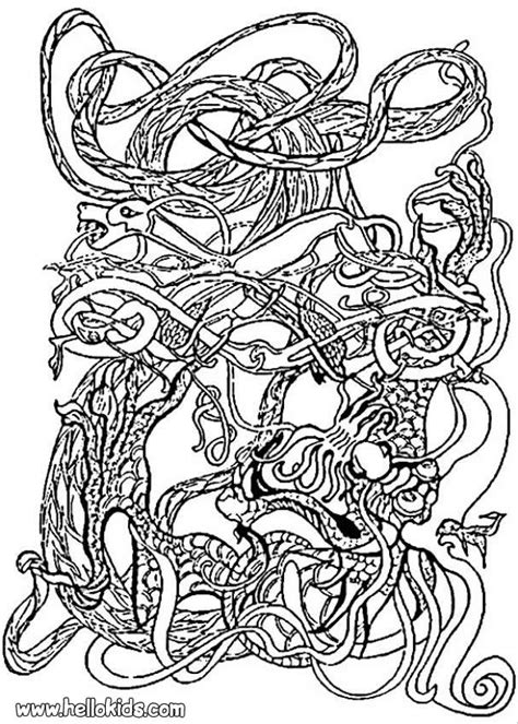 CELTIC coloring pages - Celtic symbol