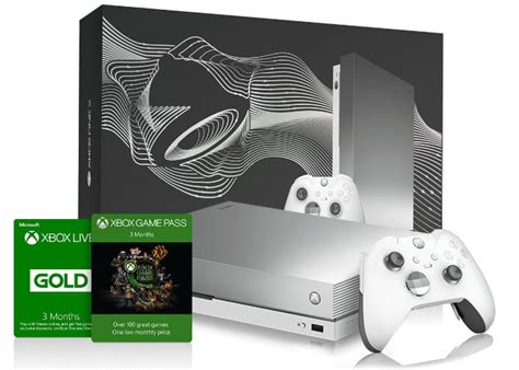 limited edition platinum xbox one x bundle available to win from taco bell geeky gadgets