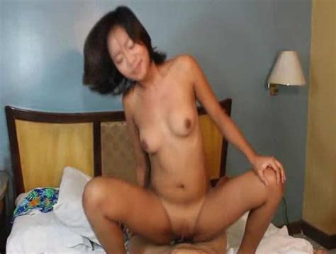 Shaved Asian Pussy Is Filled With Big Cock Asian Porn