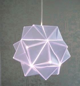 Origami Lampe Anleitung : origami luster diy origami origami lamp und origami paper ~ Watch28wear.com Haus und Dekorationen