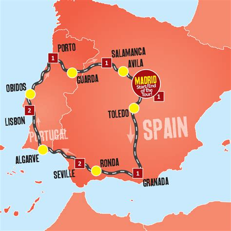 Spain And Portugal Tour Coach Tours From Madrid Expat