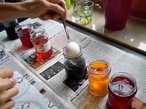Gekochte Eier Dekorieren : ostereier selbst f rben mit lebensmittelfarbe anleitung tipps f r eier ~ Markanthonyermac.com Haus und Dekorationen