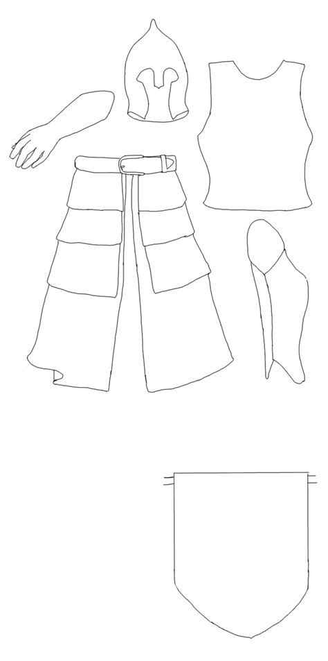 free armor templates human armor template gondor by secret z on deviantart