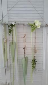 Fensterdeko Zum Hängen : liebevoll gestaltete fensterdeko aus sten im white washed ~ Watch28wear.com Haus und Dekorationen