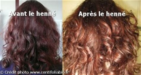 coloration au henne sur cheveux chatain