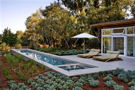 swimming pool terrace swimming pool terrace sustainable retreat by the pond in atherton california