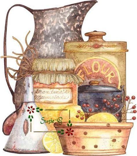 country kitchen prints artwork by diane knott diane knott フリー素材 2866