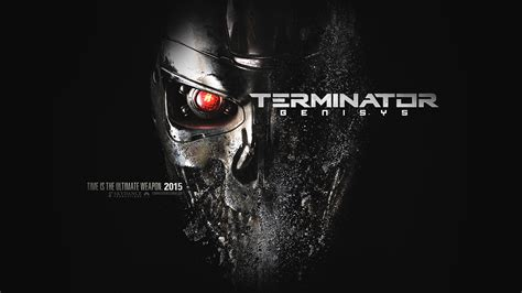 al terminator genesis poster film art illust dark