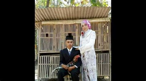 antimainstream calon pengantin  prewed  kandang ayam