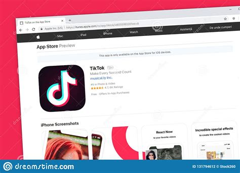 tiktok including musical ly website homepage social media application apple ios app store