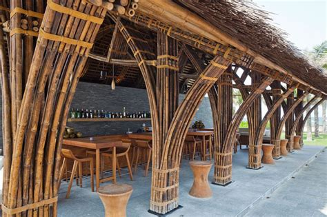 vo trong nghia s naman bar combines bamboo thatch and