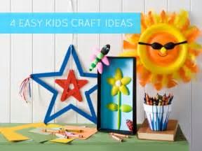 Easy Summer Craft Ideas Kids