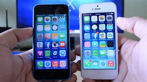 iphone 5 vs iphone 5c real world differences