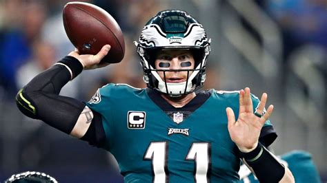 carson wentz expected   healthy  eagles offseason
