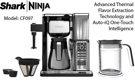 Read our ninja coffee bar cf097 review to compare both products and find out who's the winner! Shark Ninja Coffee Bar Brewer System Review (With images) | Office coffee machines, Ninja coffee ...