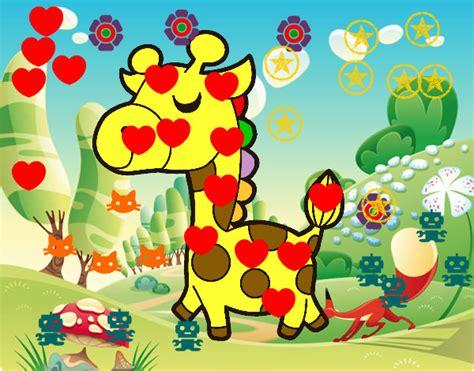 la giraffa vanitosa disegno giraffa vanitosa colorato da cristina82 il 13 di