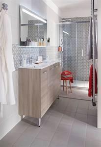 amenager une petite salle de bains les 10 bonnes idees a With porte d entrée alu avec meuble salle de bain lapeyre 120 cm