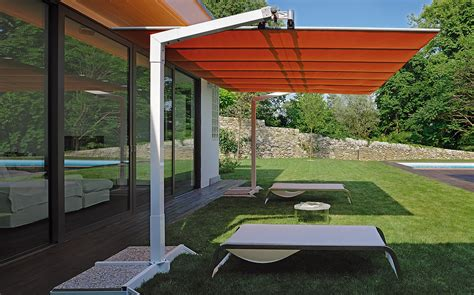Large Fim Cantilever Patio Umbrella by Patio Umbrella Flex Offset