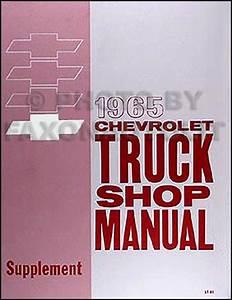 1965 Chevy Pickup  U0026 Truck Repair Shop Manual Original