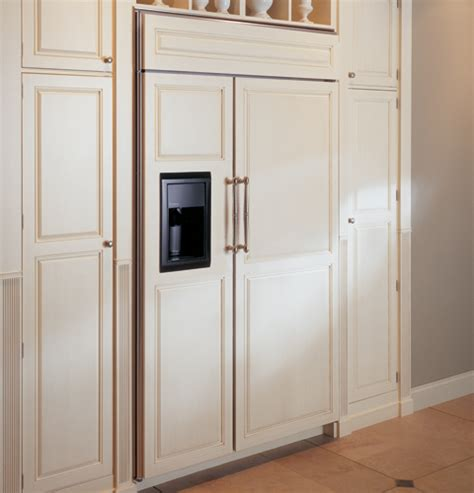 zisbdm ge monogram  built  side  side refrigerator  dispenser monogram appliances
