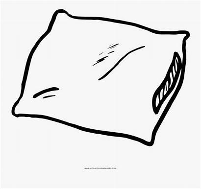 Pillow Coloring Dibujo Gorgeous Inspiration Ultra Colorear