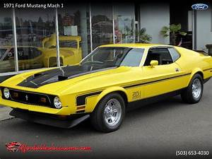 1971 Ford Mustang Mach 1 for Sale | ClassicCars.com | CC-1231877