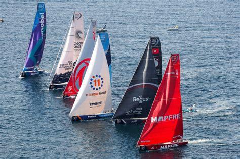 blog volvo ocean race arrivals  newport whats