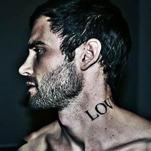 Tatouage Cou Homme : tatouage cou homme 15 motifs de tatouages cou pour les hommes ~ Nature-et-papiers.com Idées de Décoration