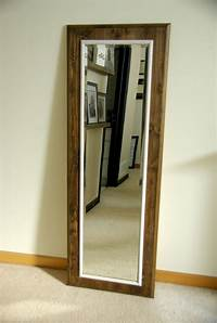 frames for mirrors How To Build And Decorate With Rustic Mirror Frames