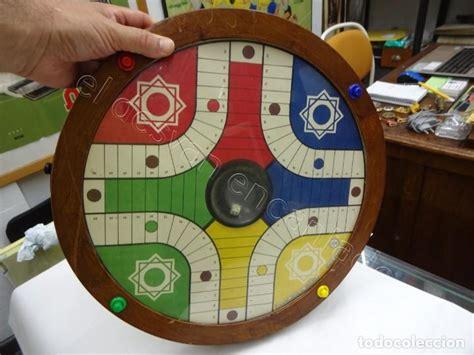 Juega gratis al parchís multijugador. Antiguo juego parchis redondo con movimiento au - Vendido en Venta Directa - 212380808