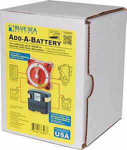 Add-a-battery Kit - 120a  Boxed