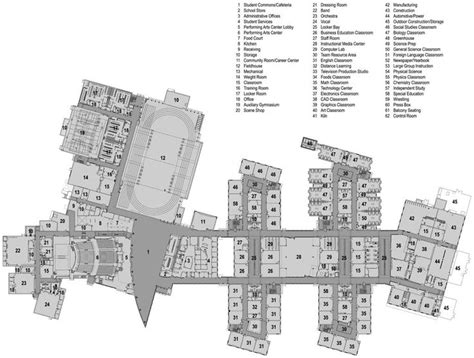 floor plan high school  suite google search floor