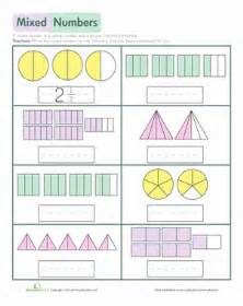 teaching mixed numbers pictures mixed number worksheets getadating