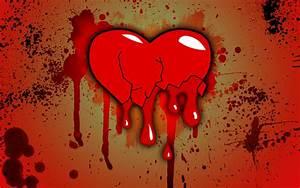 Download wallpaper: broken heart, Love, blood, download ...
