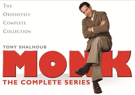 The Of A Inspector Monk Book 1 by Monk The Complete Series Dvd Review Excellent Box Set