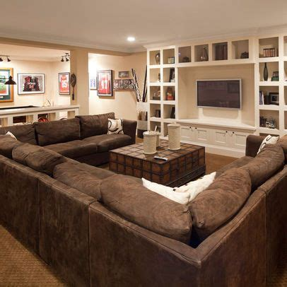 Tv Room Sofa by Large U Shaped Sectional Excellent Gathering Spot For The