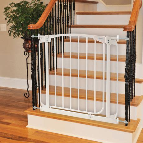 baby gates for bottom of stairs with banister dreambaby 174 banister gate adaptors 2 pack walmart canada