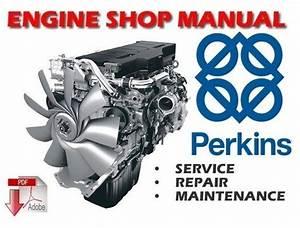 Perkins V8 640 And Tv8 640 Diesel Engines Workshop Service