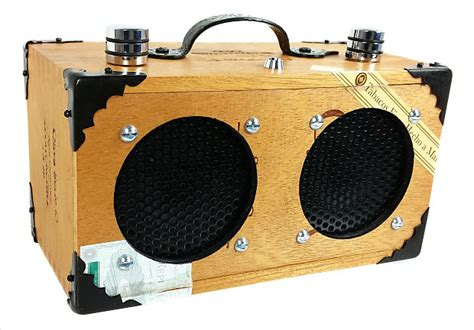 Dual-speaker All-wood Model #2
