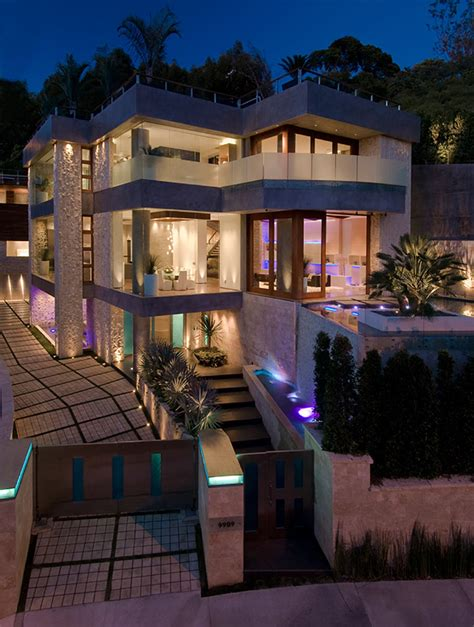 Ultimate Party House In Beverly Hills  Modern House Designs