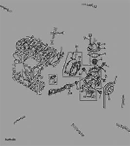Water Pump And Thermostat  Engine Marked 3tg72-ejuv  - Progator John Deere 2030