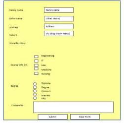 exercise 1 make a html form containing an eleme chegg com