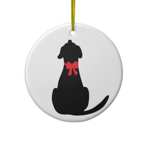 black labrador christmas tree ornament black lab