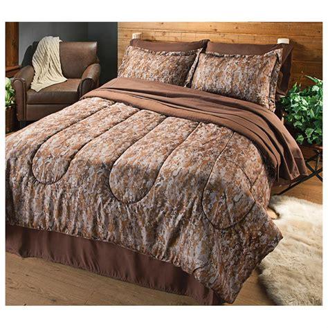 hq issue complete digital desert camo 8 piece bedding sets