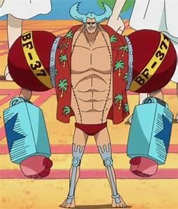 franky alt hair time skip anime color | Go Merry Refs ...