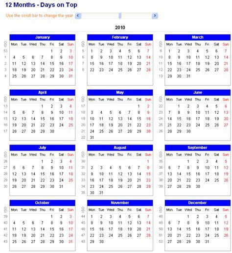 12 month calendar template 12 month calendar excel calendar template excel
