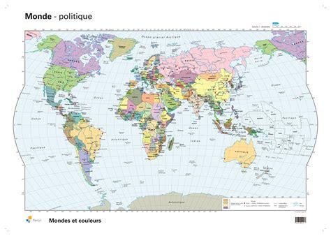 carte politique du monde world map