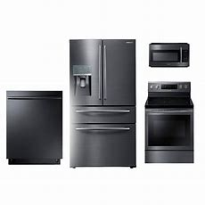 Samsung 4 Piece Kitchen Appliance Package With 59 Cu Ft