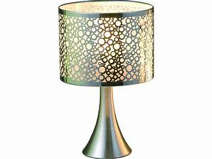 Lampe De Chevet Conforama : lampe en m tal bubble touch vente de lampe conforama ~ Dailycaller-alerts.com Idées de Décoration